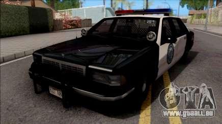 Chevrolet Caprice 1992 Police LSPD SA Style für GTA San Andreas