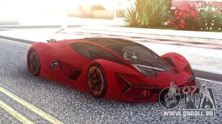 Lamborghini Terzo Millennio für GTA San Andreas