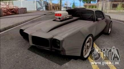 Pontiac Firebird 1970 Grey pour GTA San Andreas