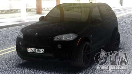 BMW X5M All Black pour GTA San Andreas
