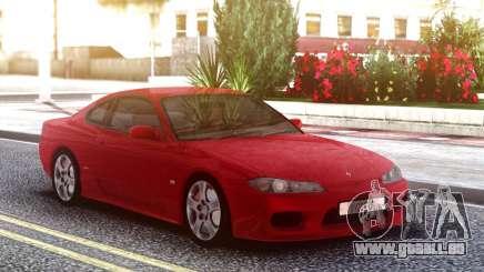 Nissan Silvia S15 Red Original pour GTA San Andreas