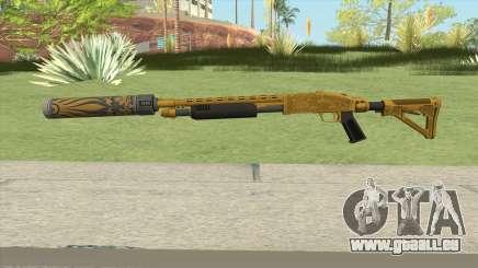 Shrewsbury Pump Shotgun (Luxury Finish) GTA V V6 für GTA San Andreas