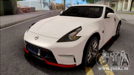 Nissan 370Z Nismo White pour GTA San Andreas