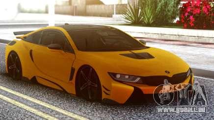 BMW I8 Yellow pour GTA San Andreas