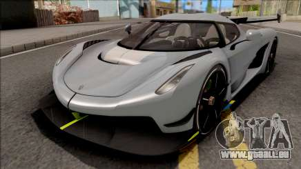 Koenigsegg Jesko 2020 Grey pour GTA San Andreas