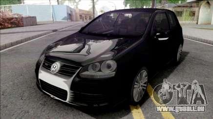 Volkswagen Golf R32 Black für GTA San Andreas