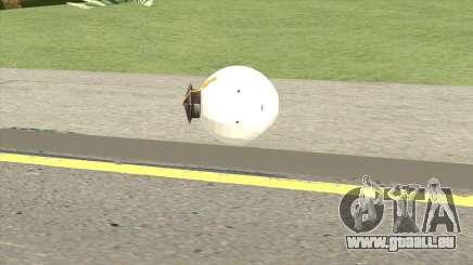 Korosensei Grenade (White) für GTA San Andreas