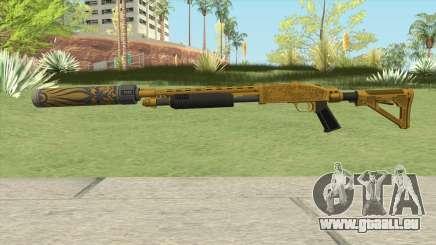 Shrewsbury Pump Shotgun (Luxury Finish) GTA V V3 für GTA San Andreas
