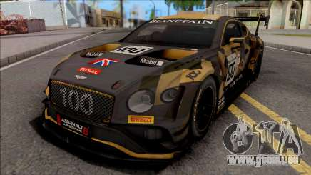 Bentley Continental GT3 2018 pour GTA San Andreas