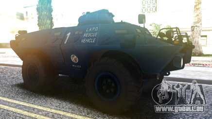Cadillac V-100 Gage Commando LAPD.LSPD.SAPD pour GTA San Andreas