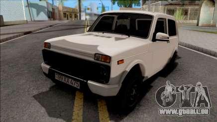 Lada Niva Urban Aze Low Style für GTA San Andreas