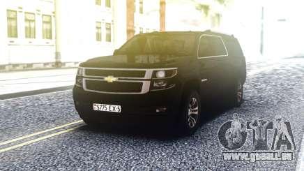 Chevrolet Suburban Offroaf Black pour GTA San Andreas
