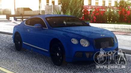 Bentley Continental Sport Blue für GTA San Andreas
