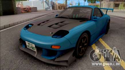 Mazda Efini RX-7 FD3s Initial D Fifth Stage  pour GTA San Andreas