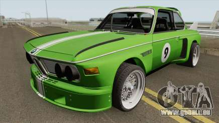 BMW 3.0 CSL 1975 (Green) für GTA San Andreas