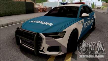 Audi A6 C8 2019 Russian Police pour GTA San Andreas