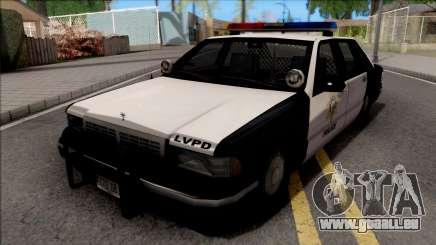 Chevrolet Caprice 1992 Polizei LVPD SA-Stil für GTA San Andreas