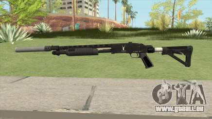 Shrewsbury Pump Shotgun GTA V V5 für GTA San Andreas