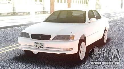 Toyota Cresta JZX100 Stock White pour GTA San Andreas