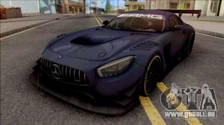 Mercedes-AMG GT3 2015 Paint Job Preset 1 pour GTA San Andreas