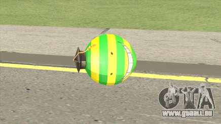 Korosensei Grenade (Green) für GTA San Andreas