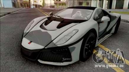 GTA Spano 2016 pour GTA San Andreas