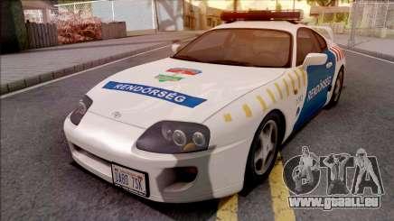 Toyota Supra Magyar Rendorseg für GTA San Andreas
