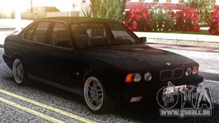 BMW E34 525 Classic Black Edition pour GTA San Andreas