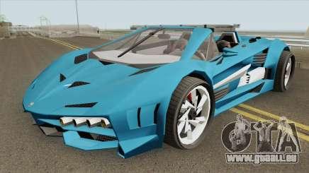Pegassi Lampo X19 GTA V IVF für GTA San Andreas