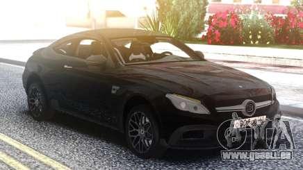 Mercedes-Benz C63S Coupe BRABUS für GTA San Andreas