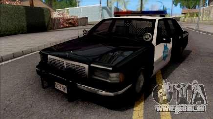 Chevrolet Caprice 1992 Police SFPD SA Style für GTA San Andreas