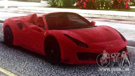 Ferrari 488 Pista Spider 2019 Roadster pour GTA San Andreas