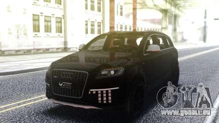 Audi Q7 Edition Black pour GTA San Andreas
