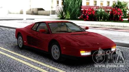 1987 Ferrari Testarossa US-Spec pour GTA San Andreas
