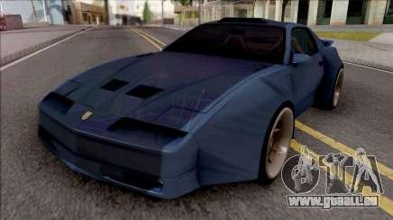 Pontiac Trans AM 1987 Blue für GTA San Andreas