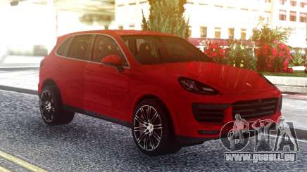 Porsche Cayenne Turbo S Red Original pour GTA San Andreas
