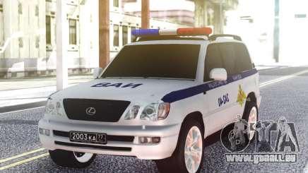 Lexus LX470 VAI pour GTA San Andreas