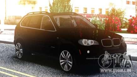 BMW X5 Black pour GTA San Andreas