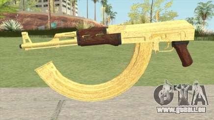 AK-47 Gold HQ pour GTA San Andreas