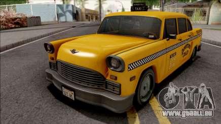 GTA III Declasse Cabbie IVF Style pour GTA San Andreas