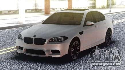 BMW M5 F10 Original White pour GTA San Andreas