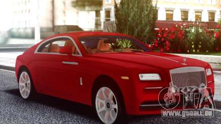 Rolls-Royce Wraith Red Coupe pour GTA San Andreas