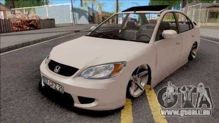 Honda Civic White pour GTA San Andreas