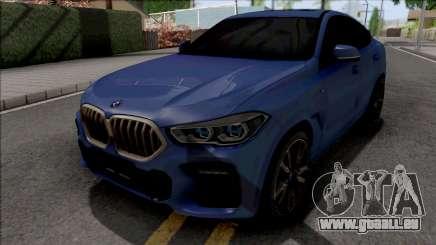 BMW X6 M50i 2020 pour GTA San Andreas