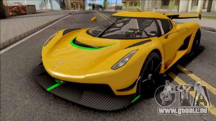 Koenigsegg Jesko 2019 für GTA San Andreas
