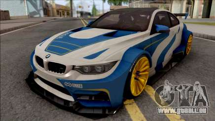 BMW M4 F82 2015 Raijin Kit pour GTA San Andreas