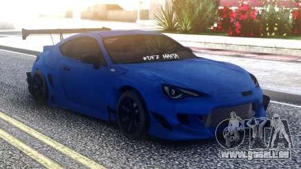 Toyota GT86 Blue pour GTA San Andreas