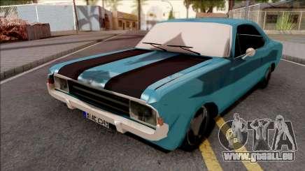 Opel Rekord C Coupe 1968 für GTA San Andreas