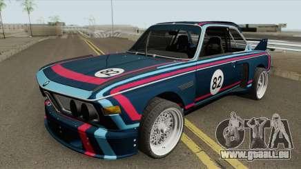 BMW 3.0 CSL 1975 (Blue) pour GTA San Andreas