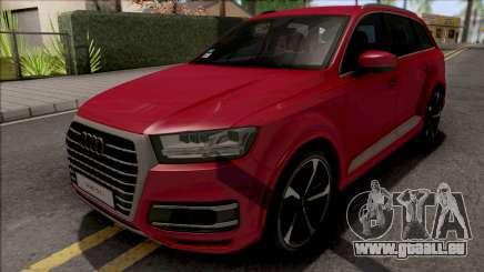 Audi Q7 Comfort Line pour GTA San Andreas